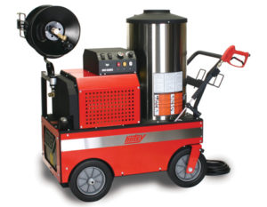 Hotsy 800 Series Oil Fired Electric Hot Water Pressure Washer