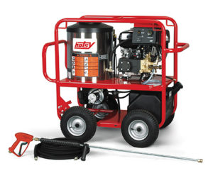 Hotsy Hot Water Gas Engine Pressure Washers