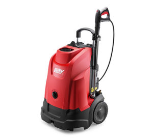 Hotsy oil fired hot water consumer pressure washer